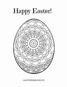 5 mandala inspired easter egg coloring pages printable pdf