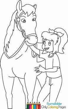 Malvorlagen Bibi Und Tina Mit Pferd Bibi Und Tina Ausmalbilder Pferde Ausmalbilder
