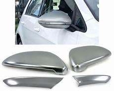volkswagen golf vii spiegelkappen mat aluminium kentra