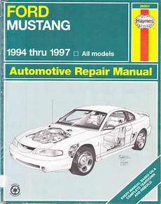 how to download repair manuals 1997 ford mustang parking system ford mustang 1994 1997 repair manual pdf