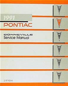 free car repair manuals 1988 pontiac bonneville electronic valve timing 1991 pontiac bonneville shop manual le se sse repair service book original oem ebay