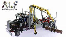 lego technic alternative lego technic 9397 logging truck lego speed build review