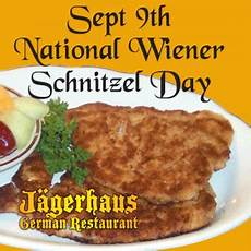 schnitzel day attention foodies september 9th is national