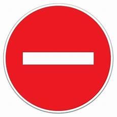 sens interdit panneau panneau sens interdit 622210
