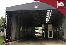 capannone pvc un capannone in pvc valcom migliora la logistica di