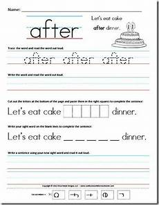 sight word sentence worksheets from confessions of a homeschooler blog 41 pages free k 1st