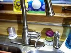 moen kitchen faucet problems broken moen faucet problem resolution