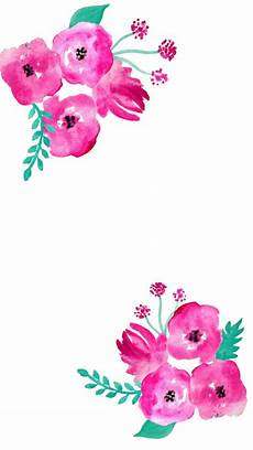 Flower Illustration Wallpaper by Free Screensaver Wallpapers Watercolour Flowers Papel