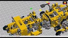lego technic quadtrac building