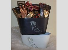 Lovely shoes gift basket   Lebouquet Blanc