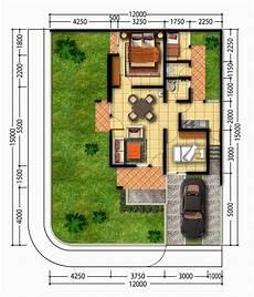 30 Denah Rumah Minimalis Type 45 Desain Sederhana
