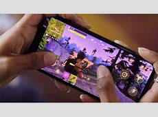 Fortnite for iPhone X compared to Xbox One X in new video