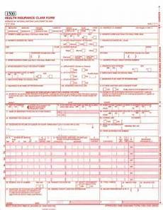 how to fill out an insurance claim form hcfa