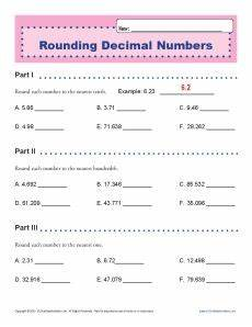 decimal place value and rounding worksheets 5649 rounding decimal numbers decimal place value worksheets for 5th grade