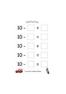 subtraction worksheets eyfs tes 10064 number sentence boards taking away from 10 teaching resources
