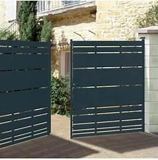 portail en acier portail portillon cl 244 ture acier himalia roy