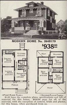 1900s house plans early 1900 s mail order home vintage house plans four