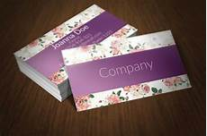floral business card template photoshop floral business card template available for free