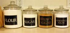Personalised Kitchen Jars by 4 Square Personalized Kitchen Canister Jar Labels Vinyl