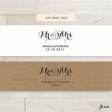 invitation belly band printable template wedding belly