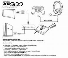 xbox one chat headset wiring diagram xp300 ps4 setup diagram turtle