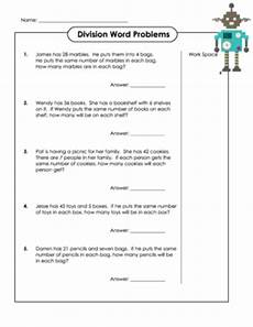 division word problems printable worksheets 6955 easy division practice sheet 3 kidspressmagazine