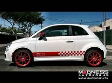 White Fiat 500 Sport Fiat 500 Parts And Accessories