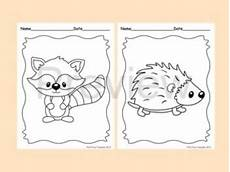 woodland animals coloring pages free 17189 woodland forest animals coloring pages 8 designs fox included animal baby quilt felt