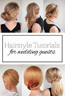 easy bridesmaid hairstyles to do yourself top 5 hairstyle tutorials for wedding guests hair
