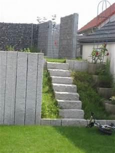 gartengestaltung mit gabionen ideen sichtschutzelemente werner natursteine