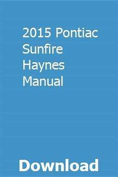 automotive repair manual 1996 pontiac sunfire on board diagnostic system 2015 pontiac sunfire haynes manual owners manuals manual pontiac sunfire