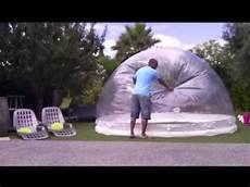 abri de piscine gonflable abri piscine spa gonflable montage www domecreation