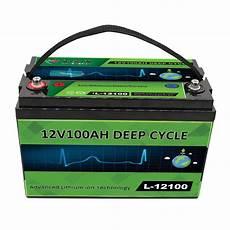 lithium ionen akku 12v wiederaufladbarer lithium ionen akku mit 12v 100ah lifepo4