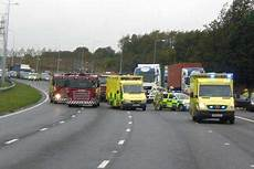 unfall a2 aktuell suffers serious injuries in a2 crash near gravesend
