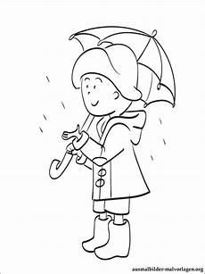 regenschirm zum ausmalen ausmalbilder
