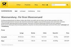versandkostenrechner deutsche post kundenbefragung