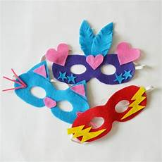 Easy Diy Felt Masks For Dressing Up
