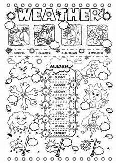 weather worksheets for elementary school 14545 exercises seasons and weather quiz