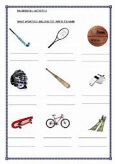 sports equipments worksheets 15787 teaching worksheets sports equipment