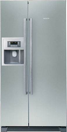 bosch kan58a75 side by side fridge