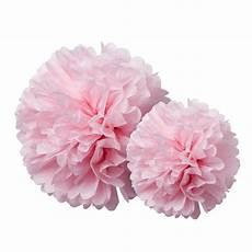 Pompons Fleur De Papier De Soie Hollyparty