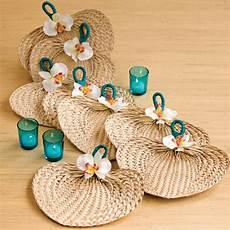 diy embellished raffia fan bridalguide