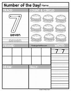 free s day worksheets for kindergarten 20457 free number of the day worksheets for preschool kindergarten students trace write draw