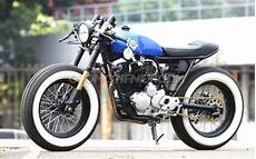 Modifikasi Motor Scorpio Klasik by Modifikasi Motor Yamaha Scorpio Gaya Cafe Racer Modern