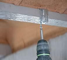 faux plafond sans suspente suspente rectolight pose rails faux plafond rector