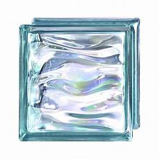brique de verre bleu vague brillant leroy merlin