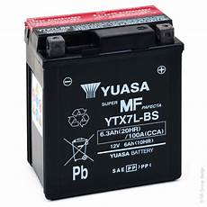Batterie Moto Yuasa Ytx7l Bs 12v 6ah Mot9203 All