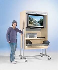 tv wagen tv wagen ftv 120 r mit rollo