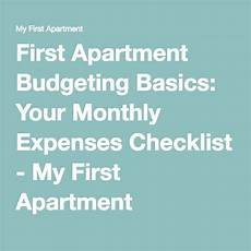 Apartment Living Expenses by Apartment Budgeting Basics Your Monthly Expenses