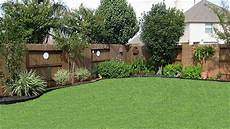 Landscaping Along A Fence Ideas